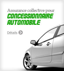 Assurance collective - concessionnaire automobile